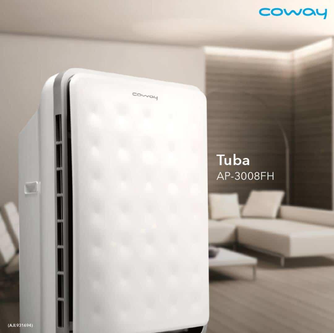 coway tuba living room