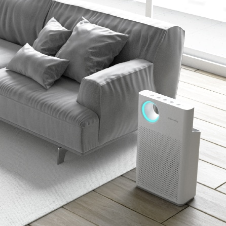 front-side-view-of-air-purifier-at-home-coway-breeze