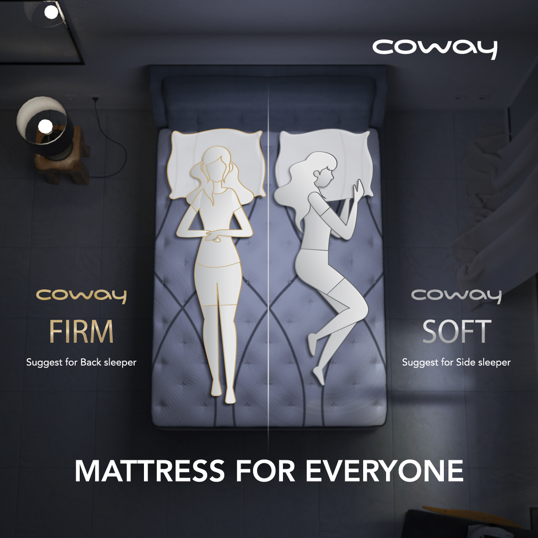 Coway Mattress for all sleep position